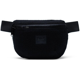 Herschel Fourteen Ensemble de sacoches de ceinture, black sherpa fleece
